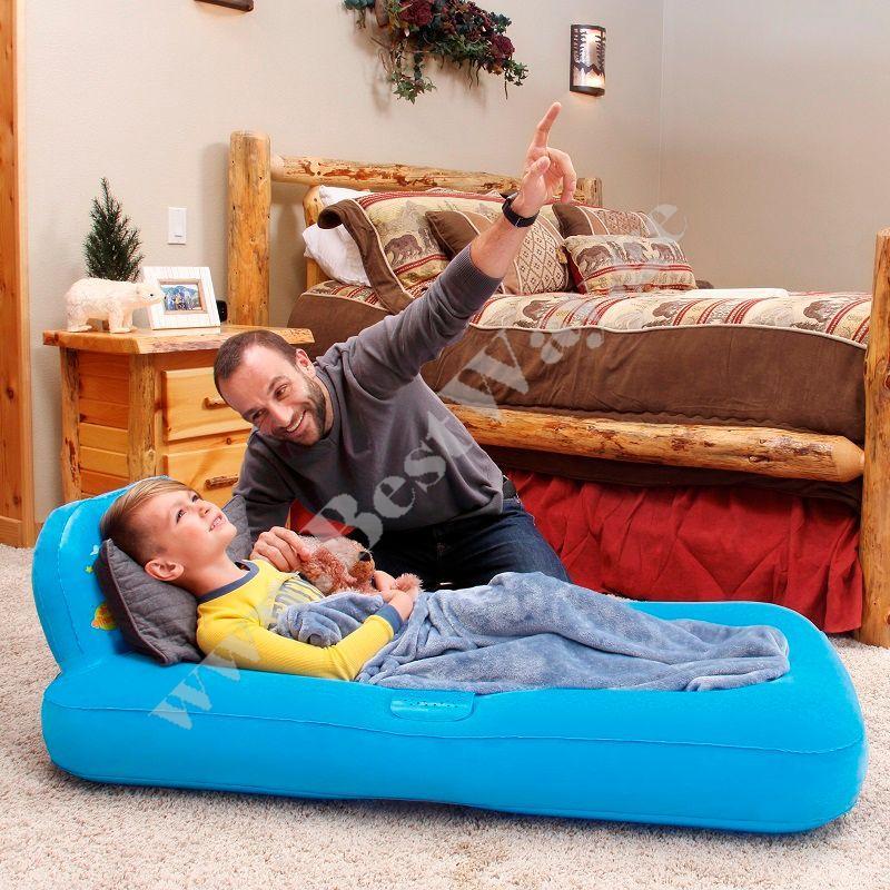 Детская надувная кровать Bestway 67496B с проектором