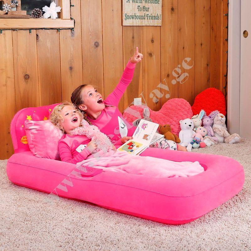 Детская надувная кровать Bestway 67496 с проектором
