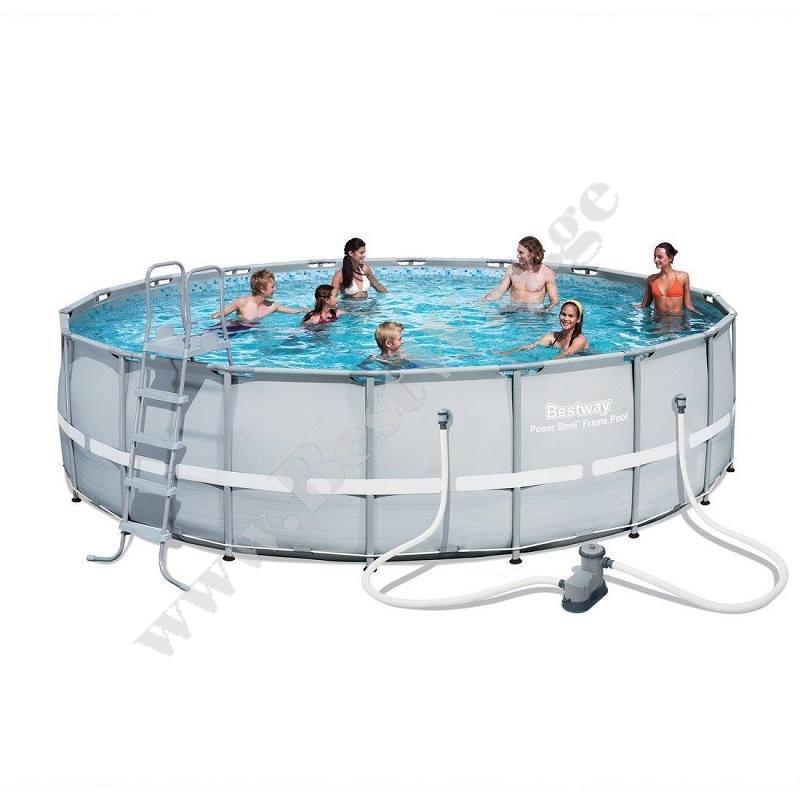 Круглый каркасный бассейн Bestway 56427