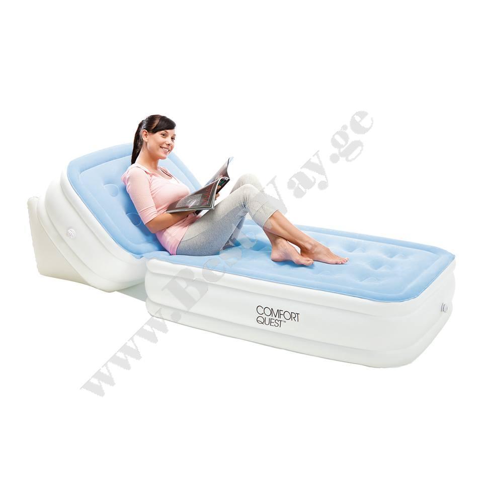 Надувная кровать шезлонг BestWay 67386