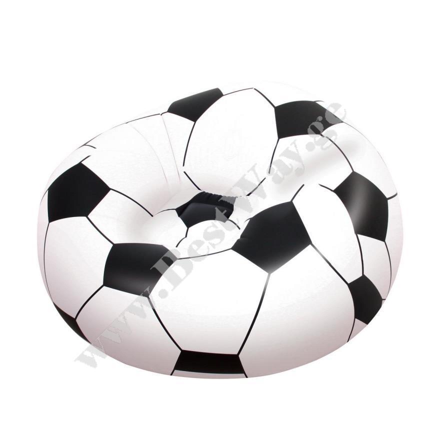 Надувное кресло  Мяч BestWay 75010 Beanless Soccer Ball Chair