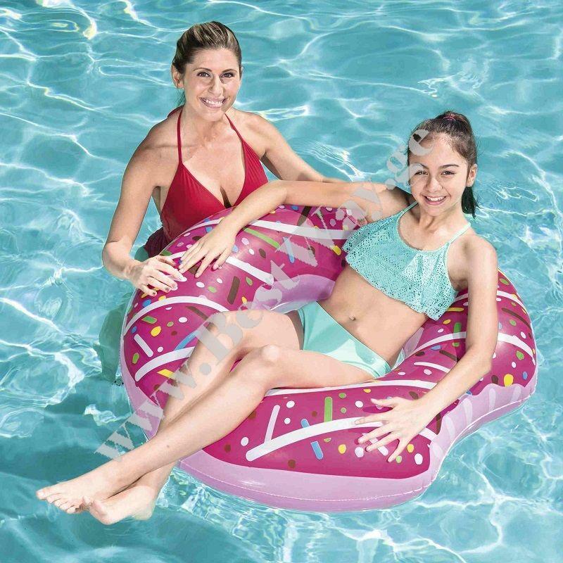 Надувной Круг Пончик для плавания Bestway 36118