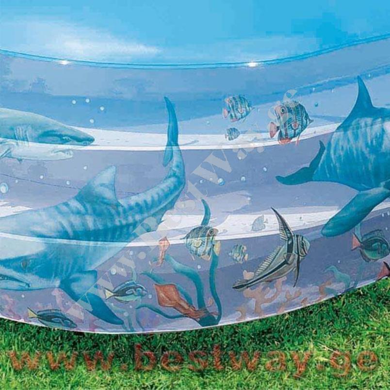 Надувной бассейн BestWay 54043