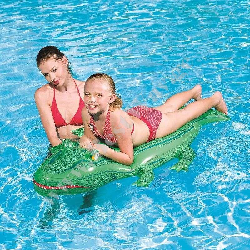 Надувной крокодил BestWay 41010