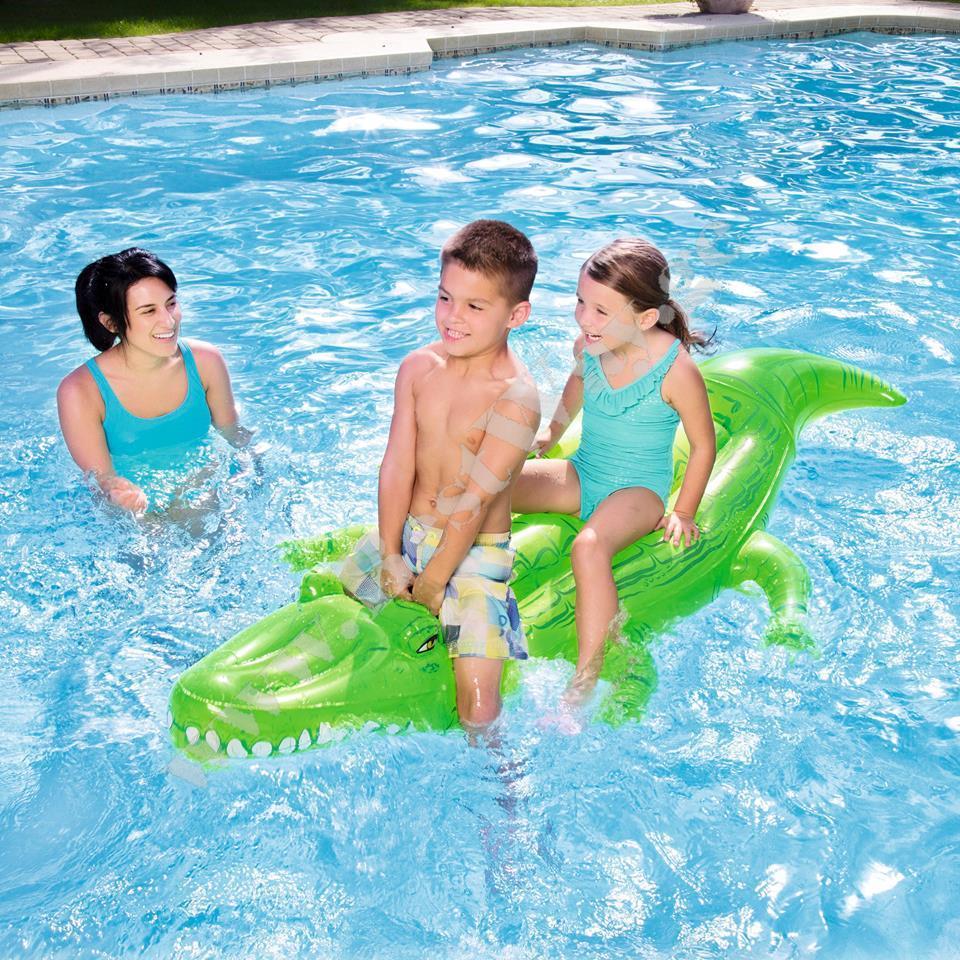 Надувной крокодил BestWay 41011