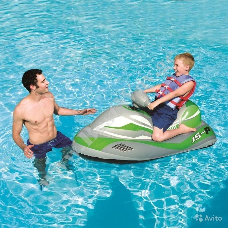 Надувной скутер с мотором BestWay 41070