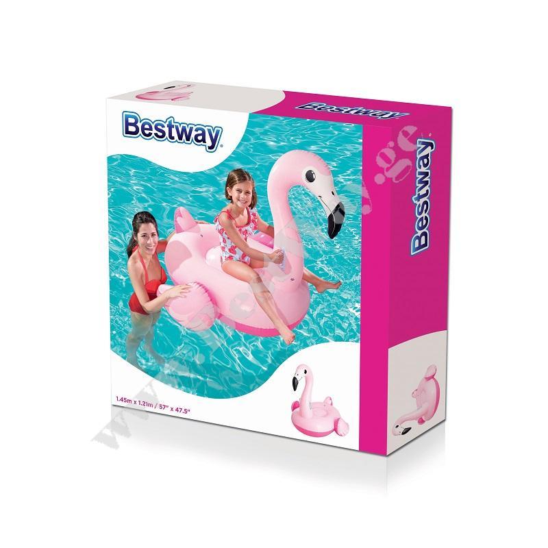 Надувной розовый фламинго Bestway 41099
