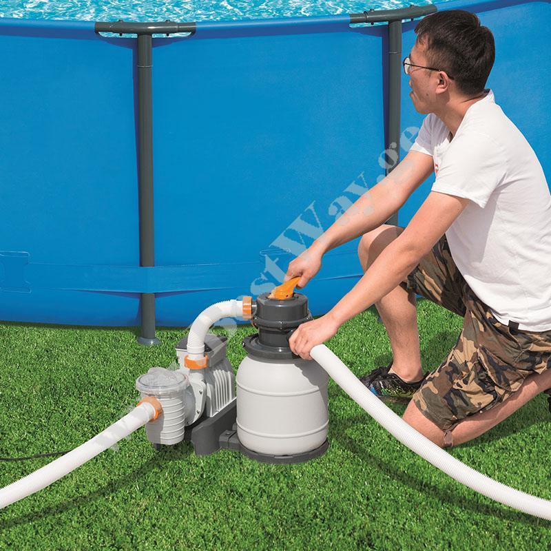 Песчаный фильтр для бассейна Bestway 58497