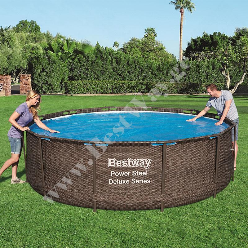 Солнечный тент для бассейна Bestway 58242