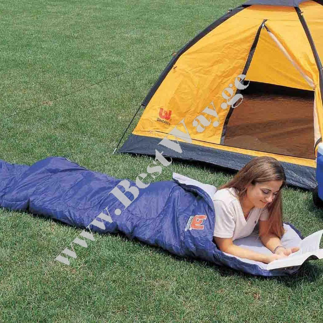 Спальный мешок BestWay 67418 Comfort Quest Hibernator Sleeping