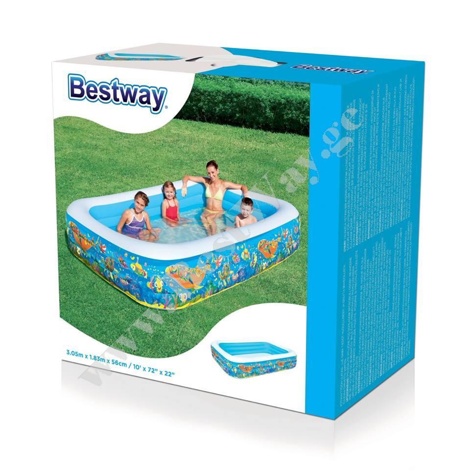 გასაბერი აუზი Bestway 54121