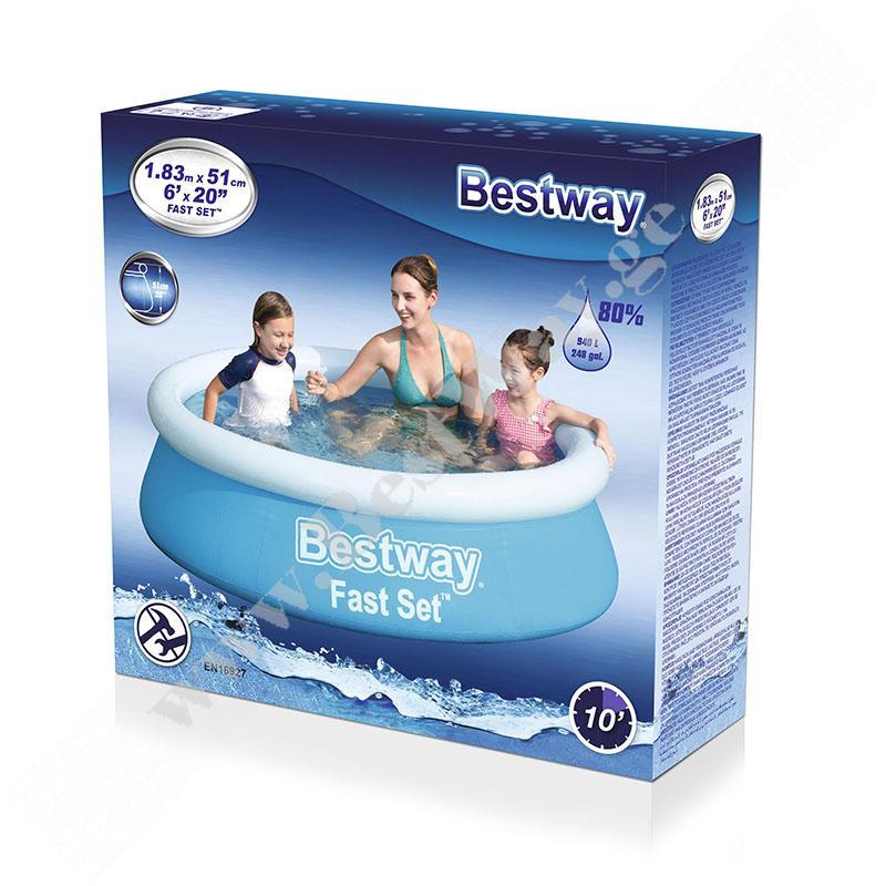 გასაბერი აუზი Bestway 57392