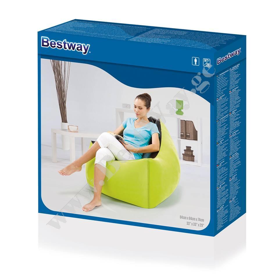 გასაბერი სავარძელი BestWay 75048 Moda Chair