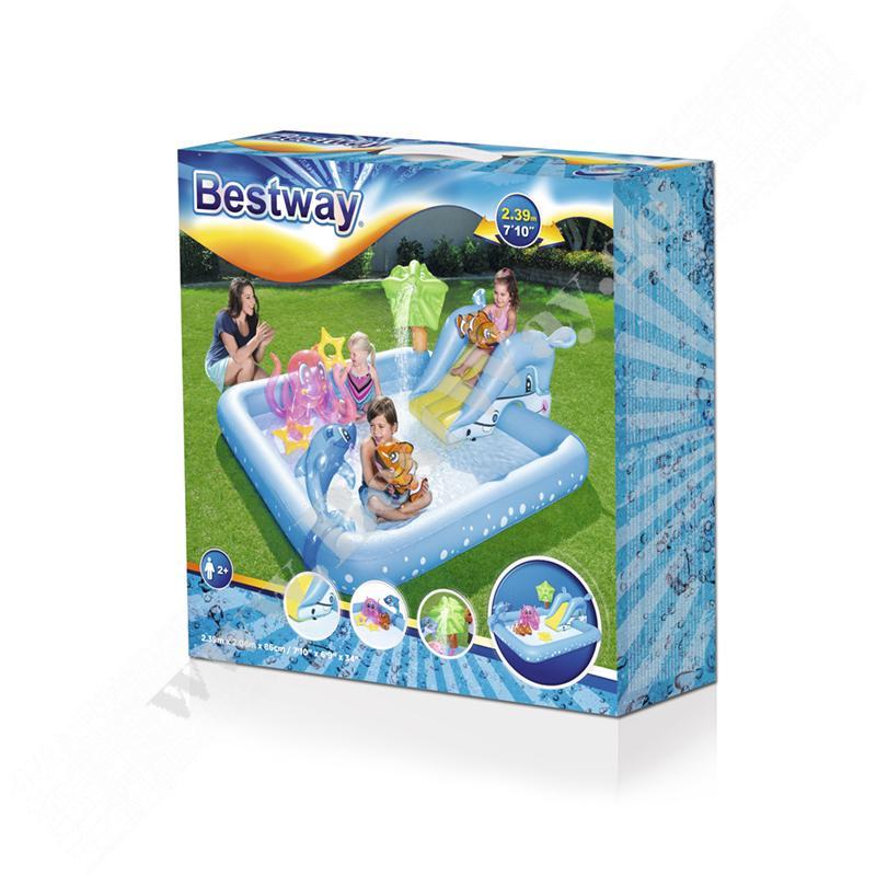 გასაბერი სათამაშო ცენტრი აკვაპარკი Bestway 53052