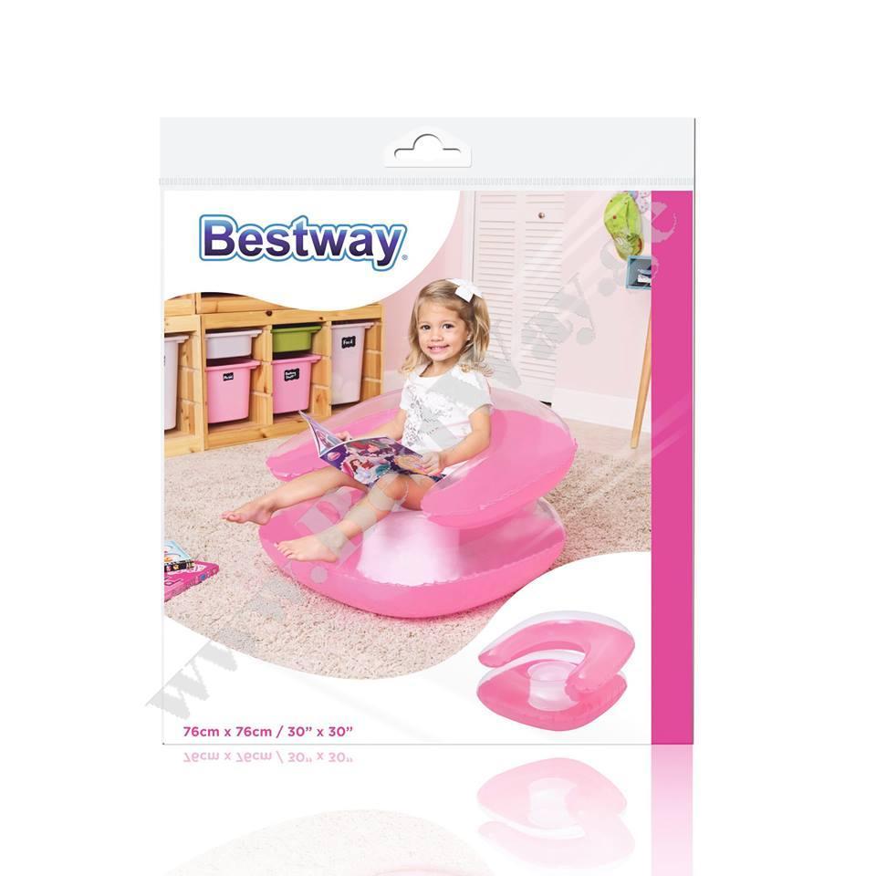 საბავშვო გასაბერი სავარძელი BestWay 75006