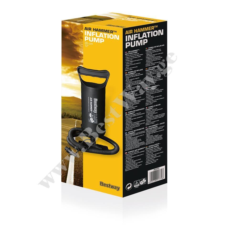 ხელის მოხმარების ჰაერის ტუმბო BestWay 62002 Air Hammer-Inflation Pump