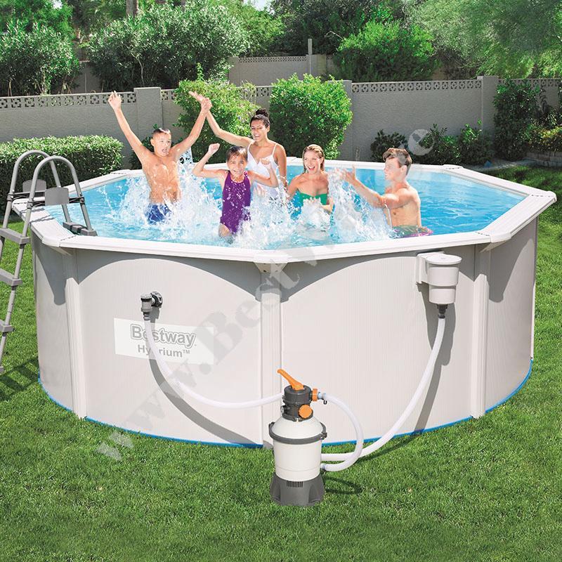 Стальной каркасный бассейн BestWay 56574