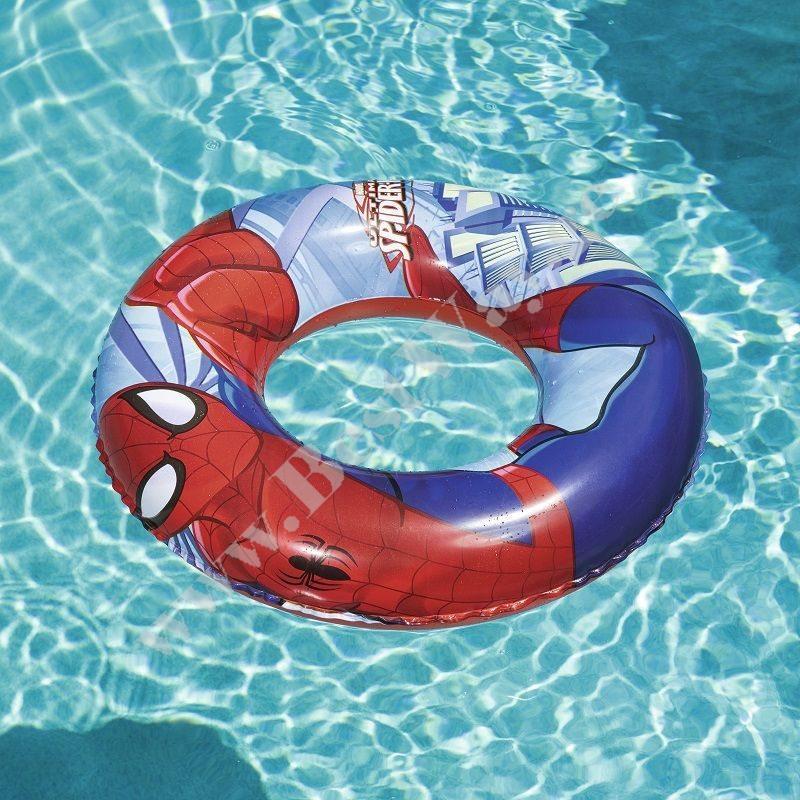 გასაბერი რგოლი ადამიანი-ობობა Bestway 98003 Spider-Man