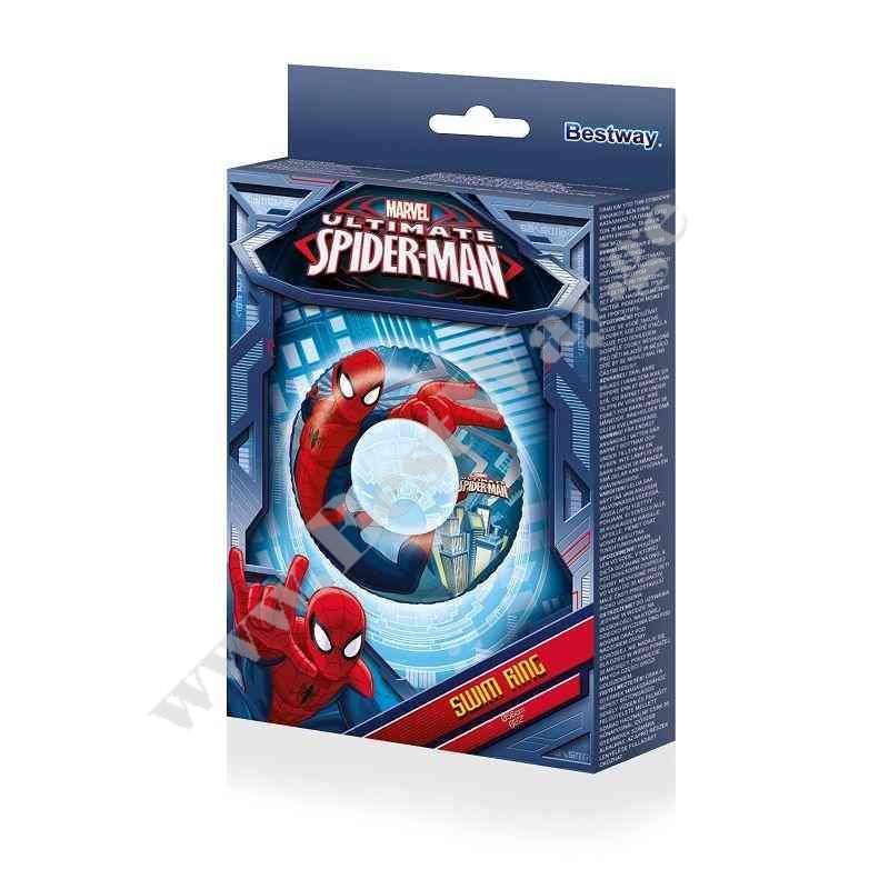 Надувной круг BestWay 98003 Spider-Man