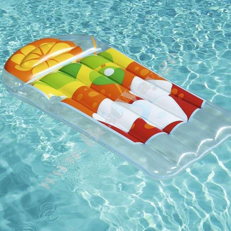 Пляжный матрас BestWay 44037A Тропический коктейль