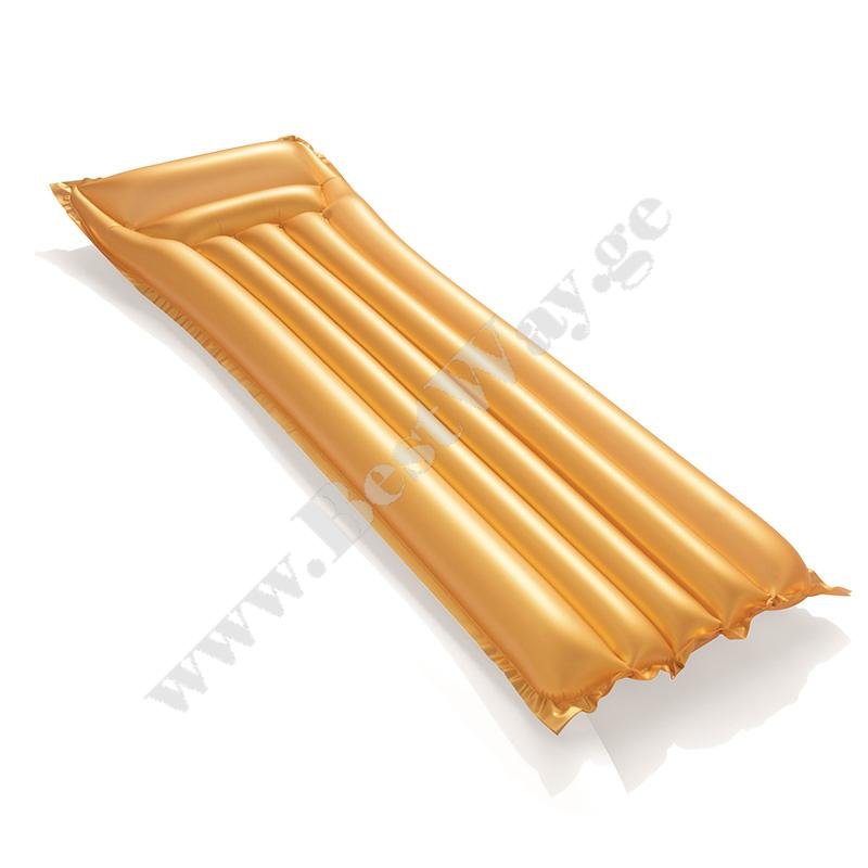Надувной матрас для плавания Золотой Bestway 44044