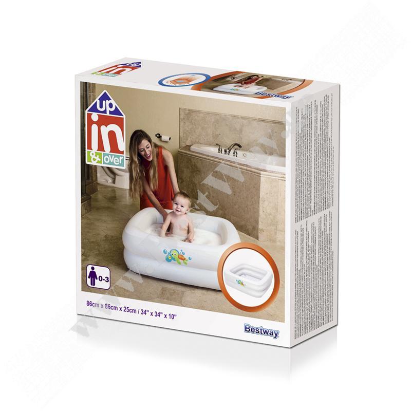 Детская надувная ванночка Bestway 51116