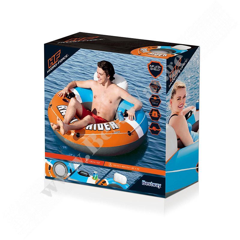 Надувной шезлонг для отдыха на воде Bestway 43116